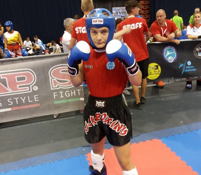 Klara Prpić – viceprvakinja Europe u kickboxingu