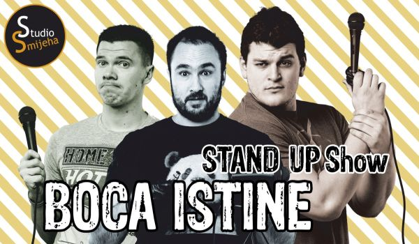 "Sisak ""Boca Istine"" stand up comedy show"