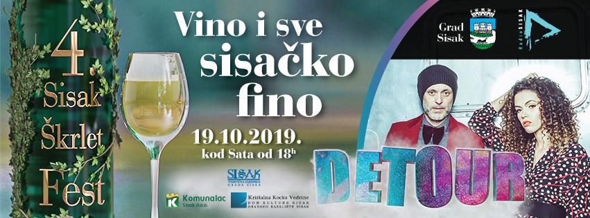 VINO I SVE SISAČKO FINO – 4. SISAK ŠKRLET FEST