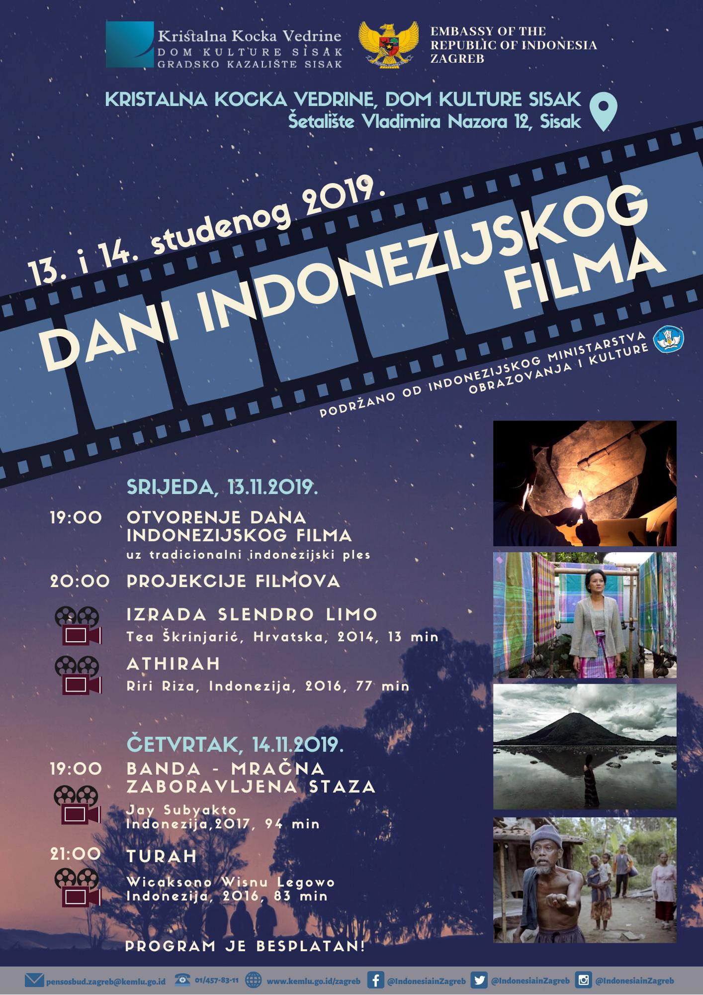 DANI INDONEZIJSKOG FILMA U SISKU