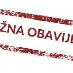 OBAVIJEST – Posebna regulacija prometa tijekom Adventa u Sisku