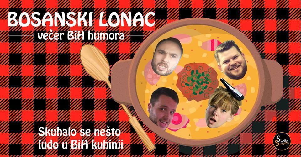 Sisak: Bosanski lonac stand up večer BiH humora