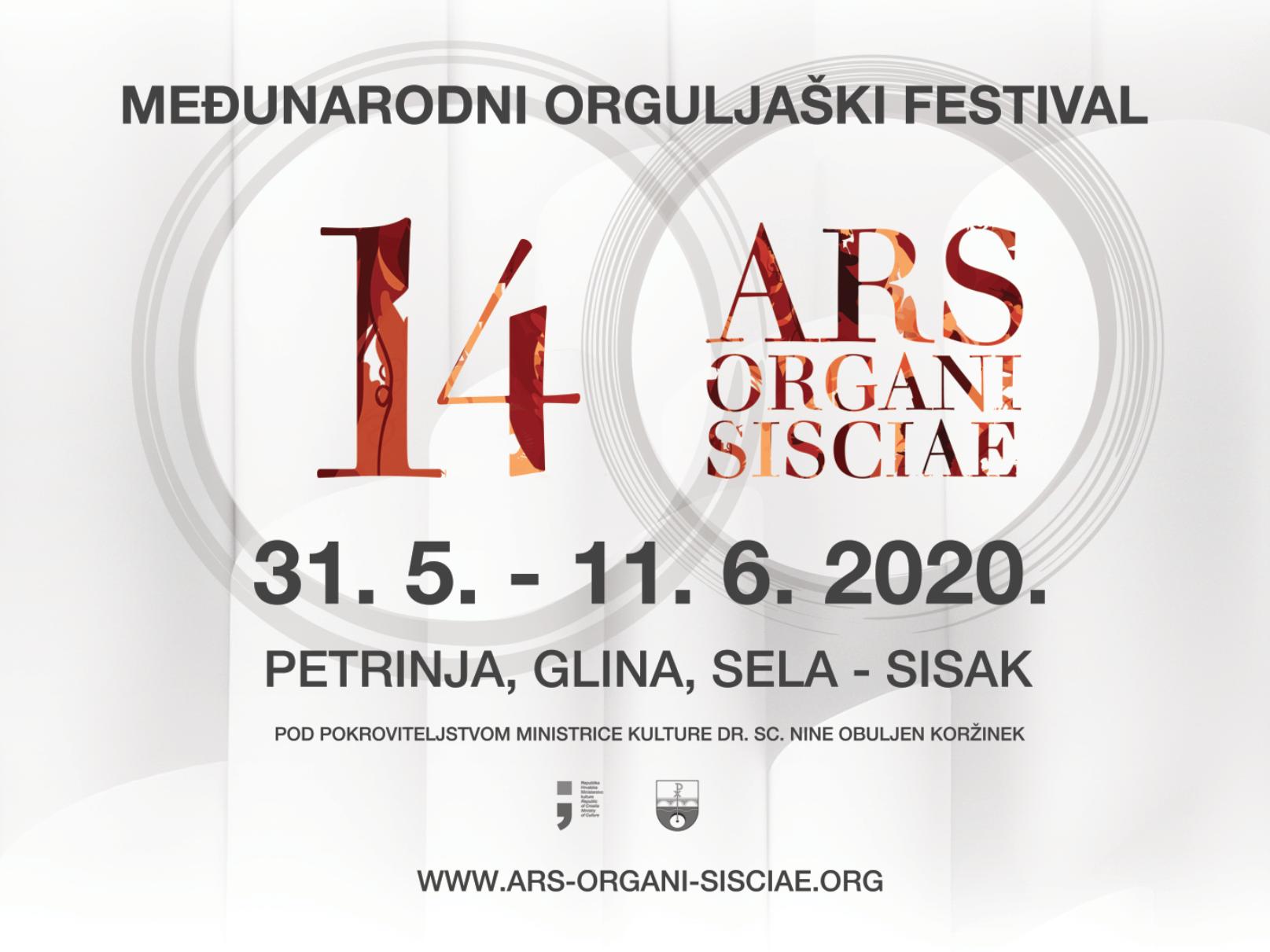 14. ARS ORGANI SISCIAE & 6. ZRIN FESTIVAL