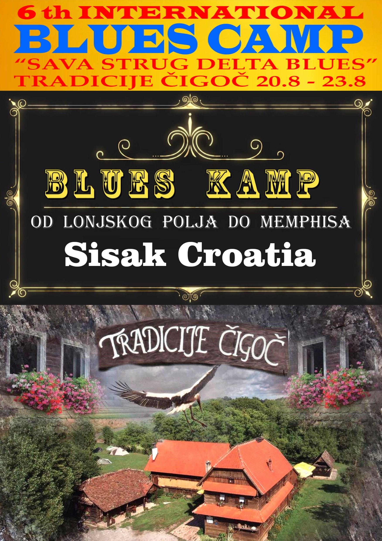Najava 6. međunarodnog blues kampa