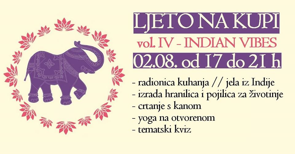 Ljeto na Kupi vol. IV – Indian vibes