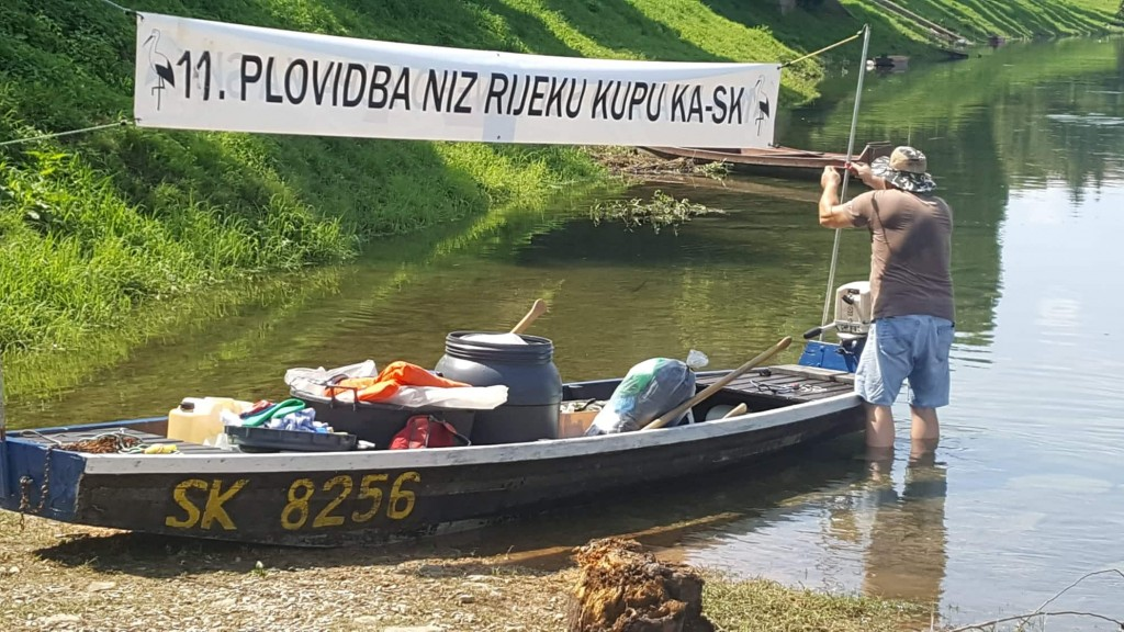 12. plovidba niz rijeku Kupu od Karlovca do Siska