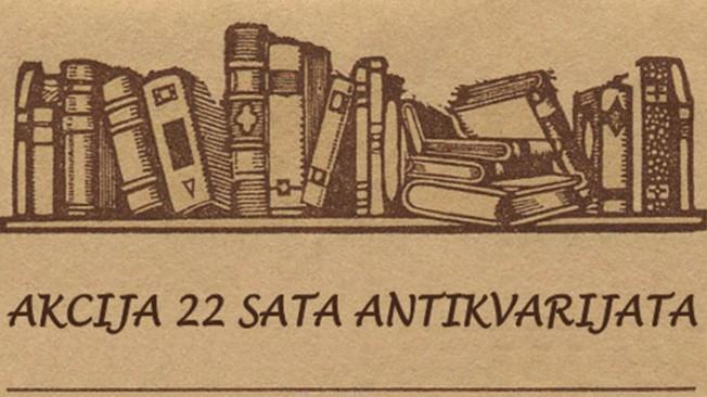 22 sata antikvarijata