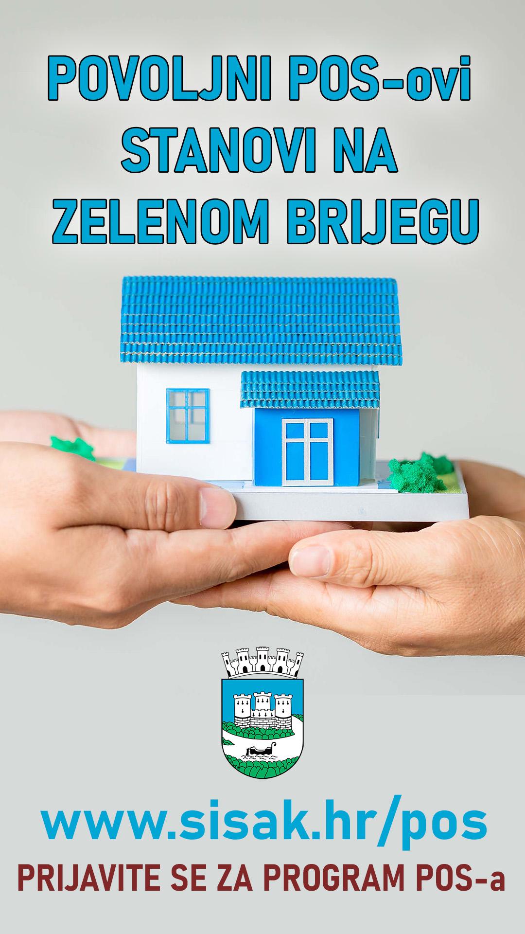 Produljenje roka za podnošenje zahtjeva za kupnju stana iz Programa POS-a