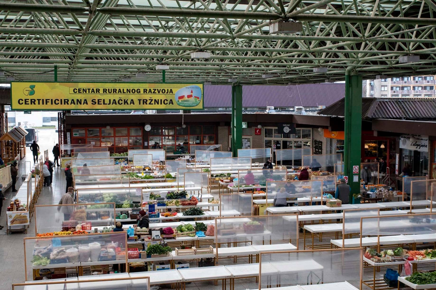 Posjetite Gradsku tržnicu Sisak