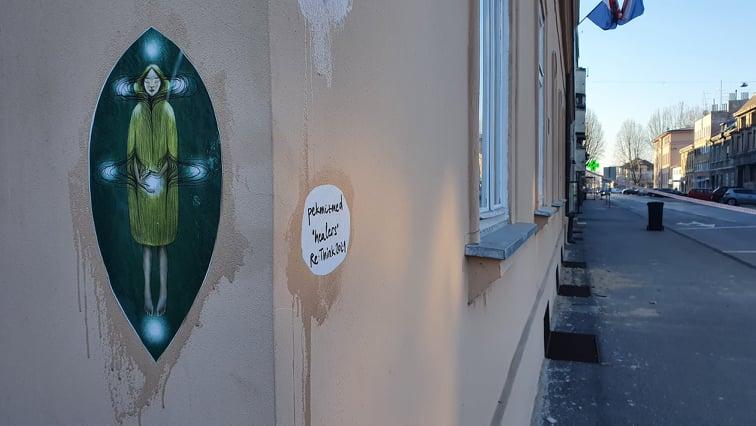 """Simbolični """"Healersi"""" na zidovima našeg grada"""