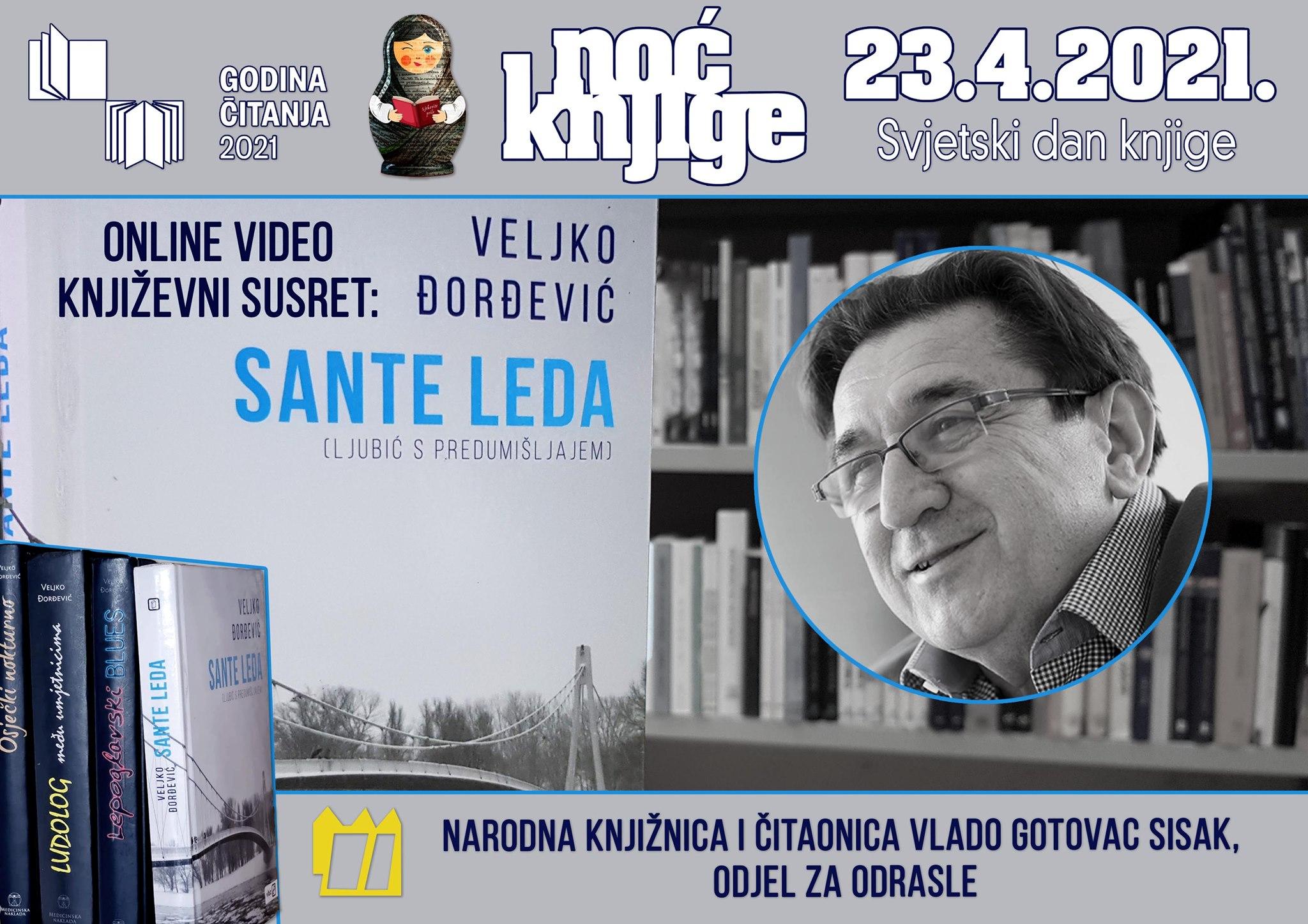 Noći knjige Narodne knjižnice i čitaonice Vlado Gotovac