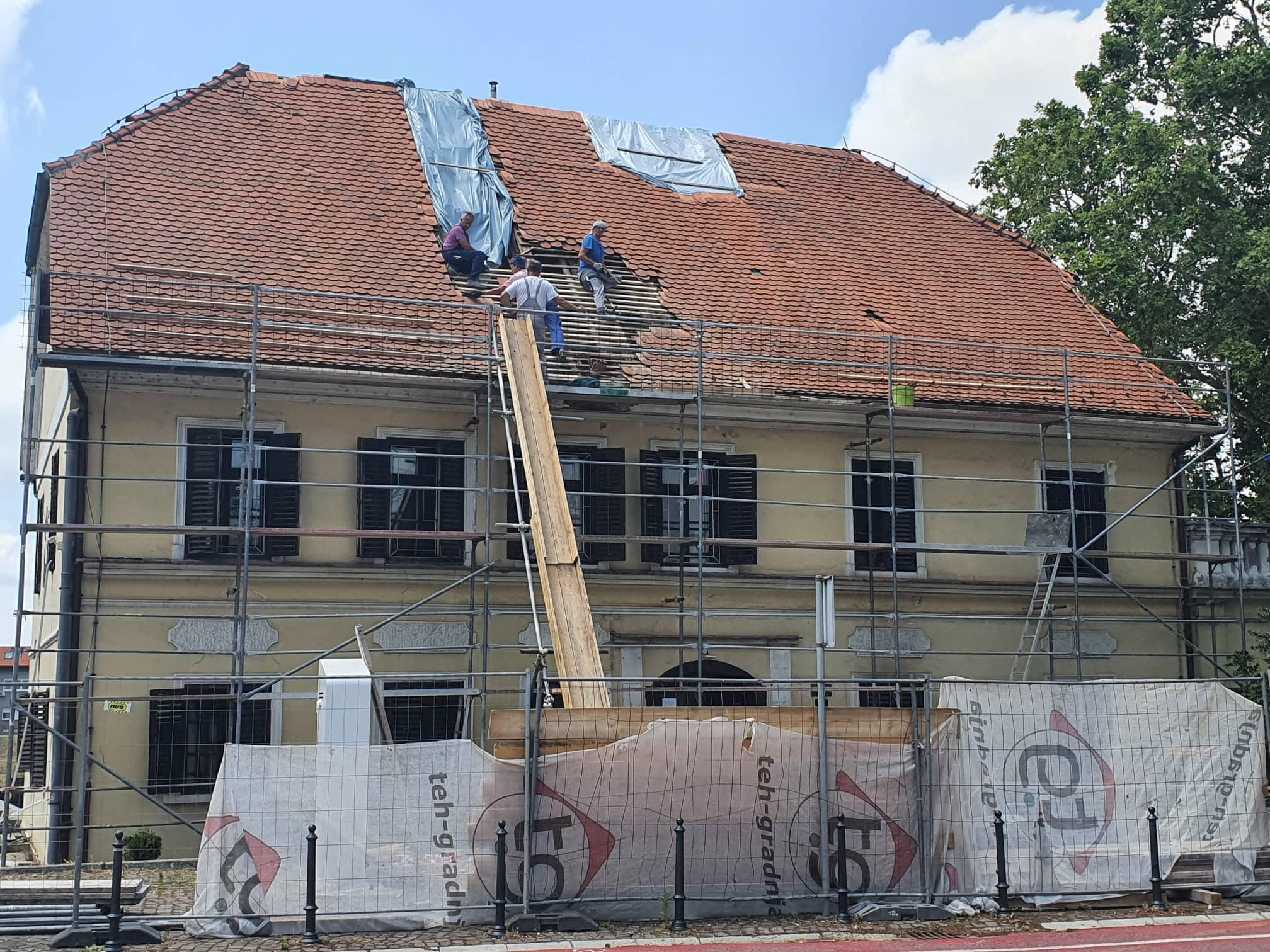 Započeli su radovi na zgradi Mali kaptol