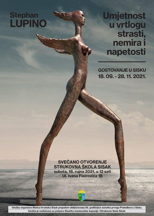 Izložba Stephana Lupina u Sisku