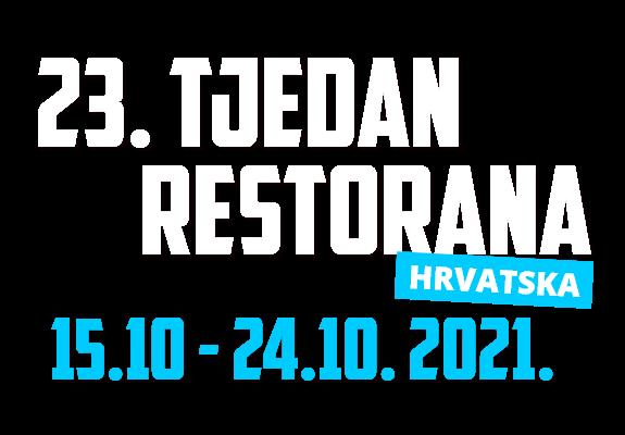 23. Tjedan Restorana – 15.10.-24.10.2021.