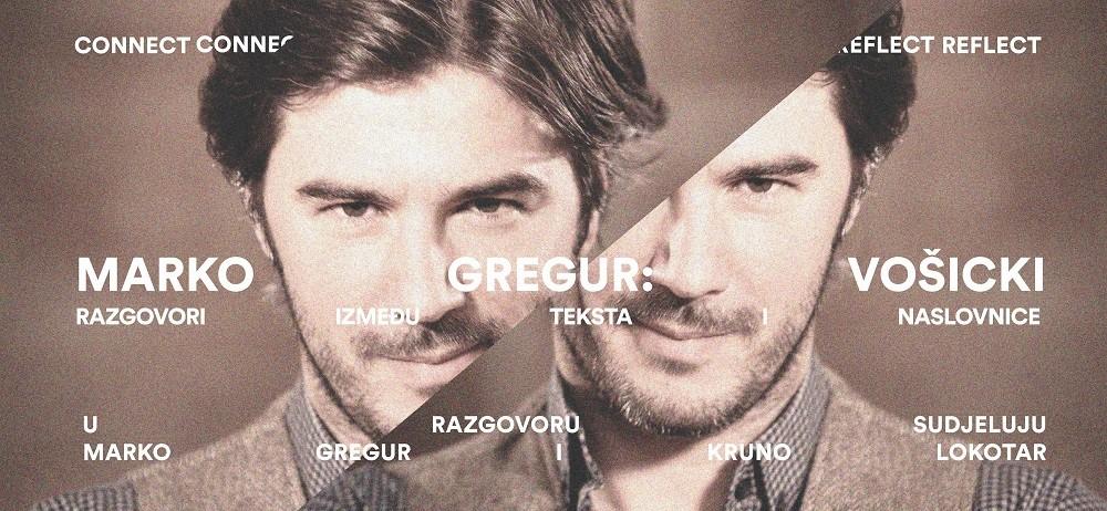 Razgovori između teksta i naslovnice: Marko Gregur / Vošicki