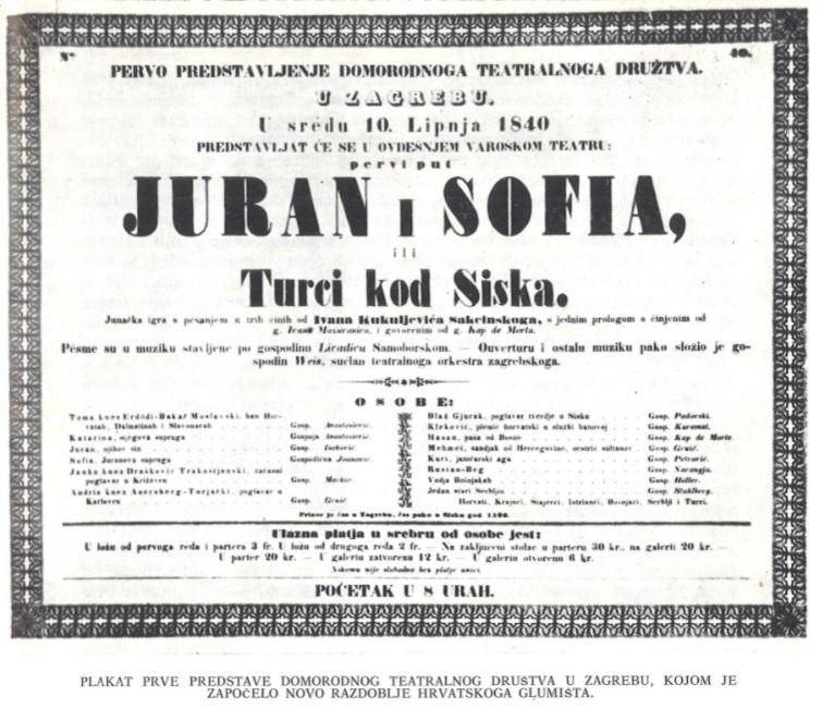 Izložba Sisačko glumište kroz arhivsko gradivo